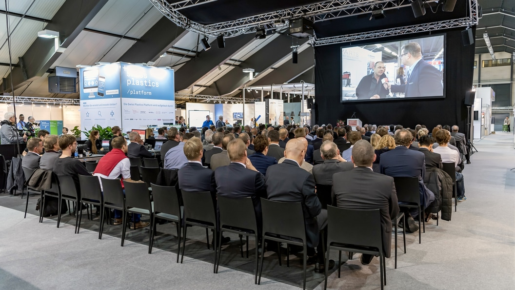Innovation Symposium an der Swiss Plastics Expo