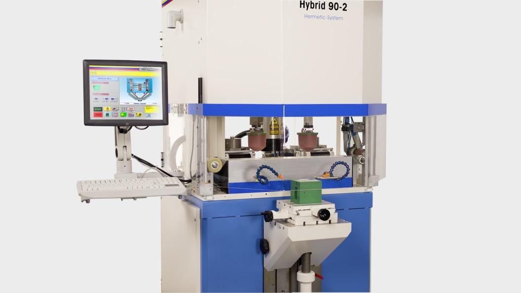 Hybrid 90-2 mit integrierter Klischeefertigung mittels Lasertechnik