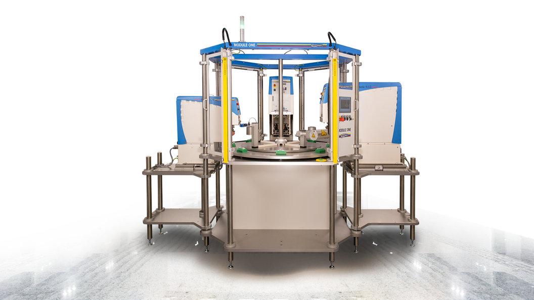 Die Maschine ist für kleine bis mittlere Seriengrössen ausgelegt