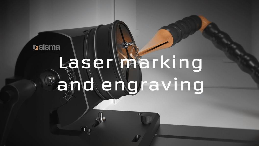 Beschriftungslaser und Lasergraviermaschinen von Sisma