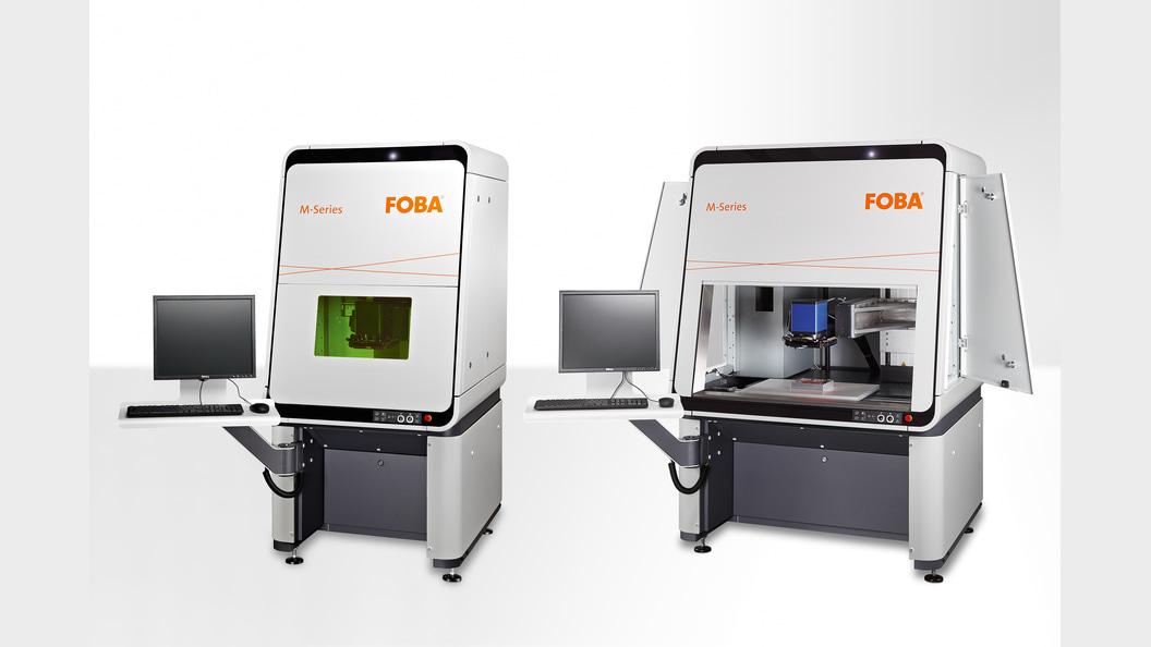 Lasermarkierstationen der FOBA M-Serie: M2000 und M3000