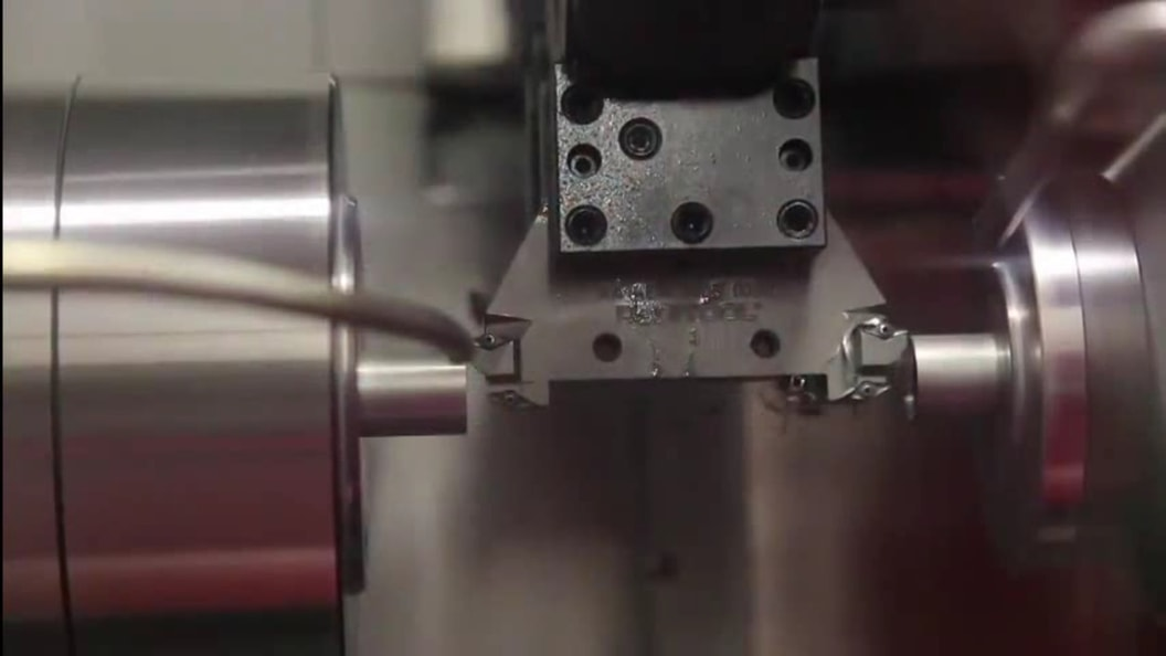 Cutting time: 1 second per chamfer