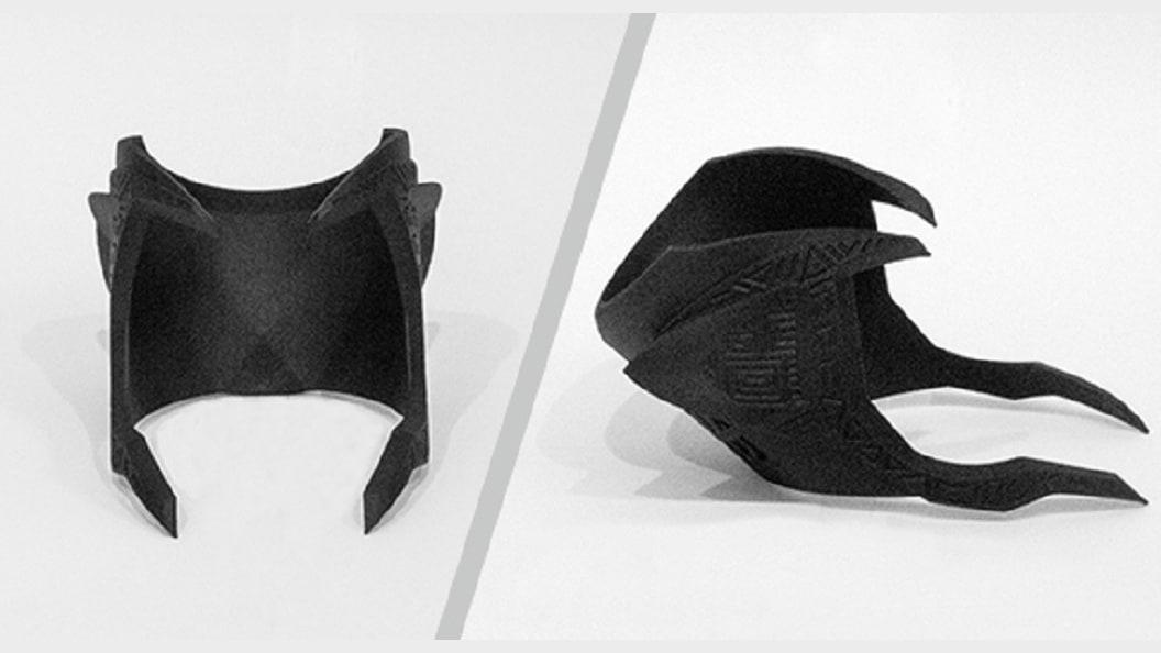 Aufgrund des hohen Detailierungsgrades der Maske hat sich PepsiCo für den 3D-Druck entschieden.