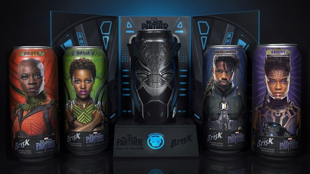 The Black Panther Promotion Set brings the characters and costumes of the film to life.