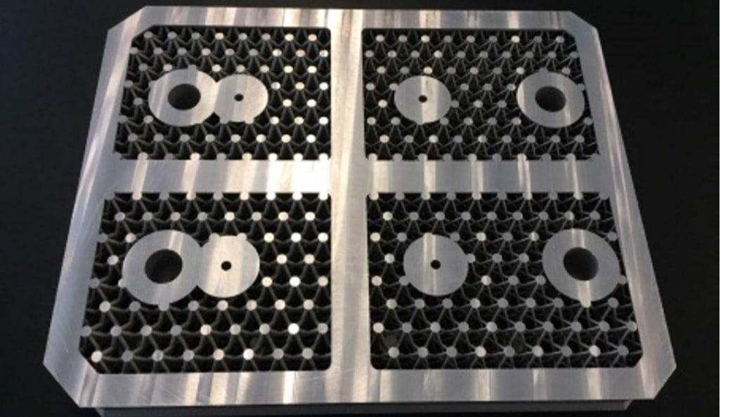 AM-gefertigtes Aluminium Block-insert