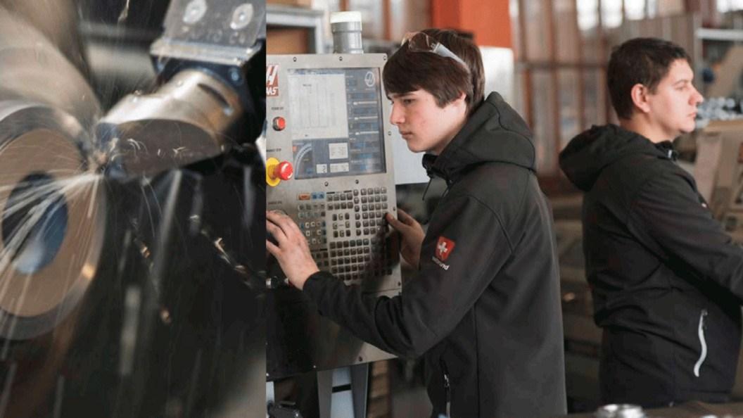 HAAS CNC-Maschinen bei Wyssen
