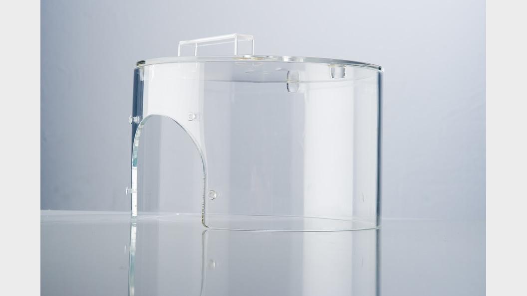 Maschinenabdeckungen aus Acrylglas, Polycarbonat oder PET-G.