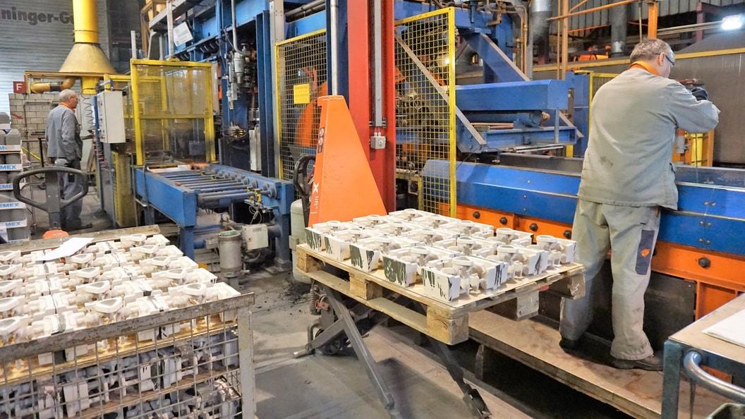 DGP- Digital casting production on the automatic moulding line