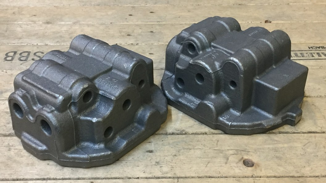 unmachined castings