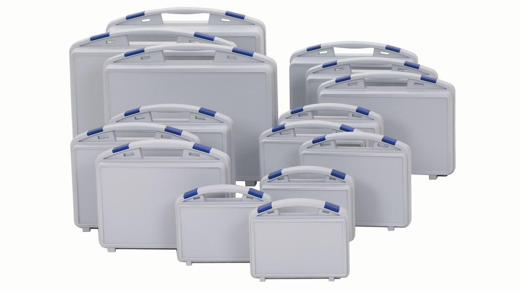 Die TWIST-Baureihe bietet aktuell 15 Koffergrößen zur Auswahl.