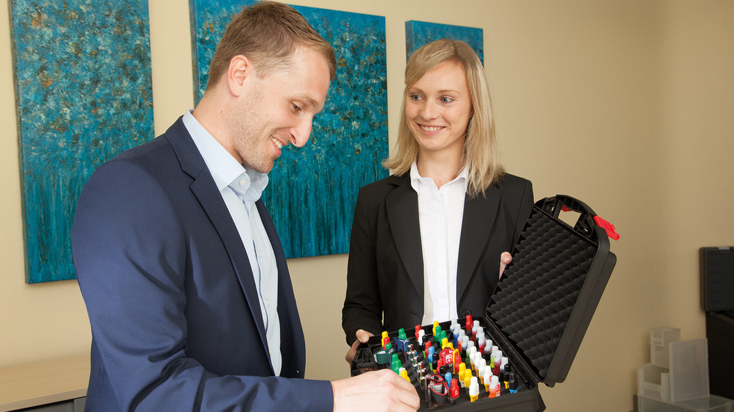Individuelle Beratung des Kunden bereits bei Projektbeginn beim Kunden vor Ort.