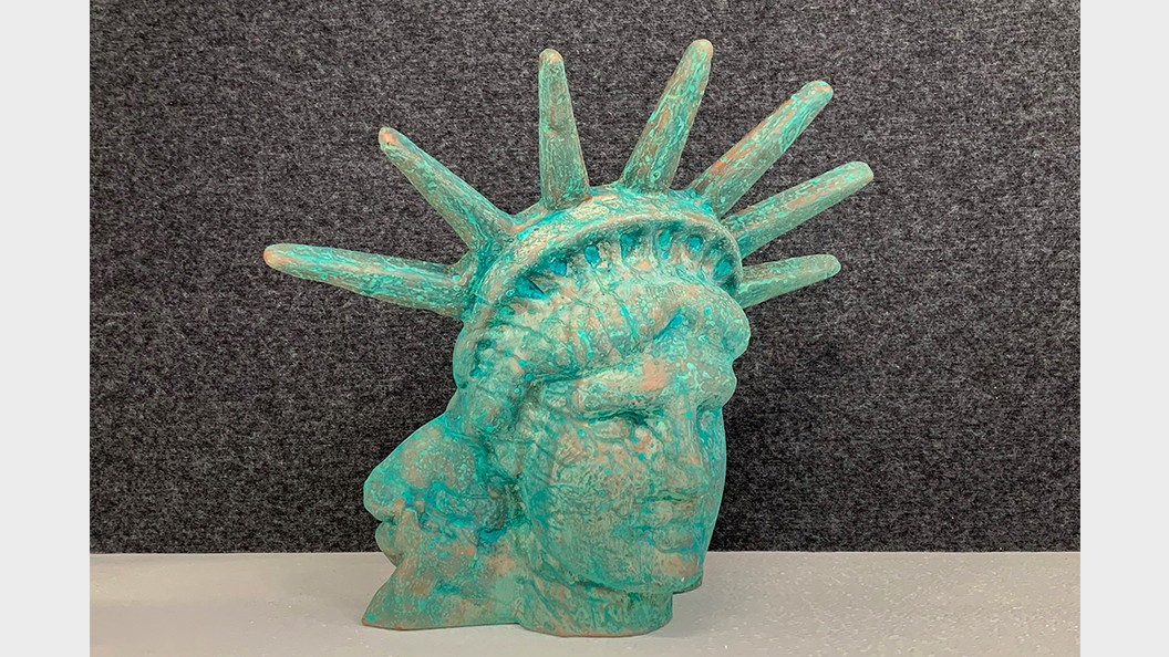 Liberty, 3D printed with BigRep ONE, surface hardened and finished