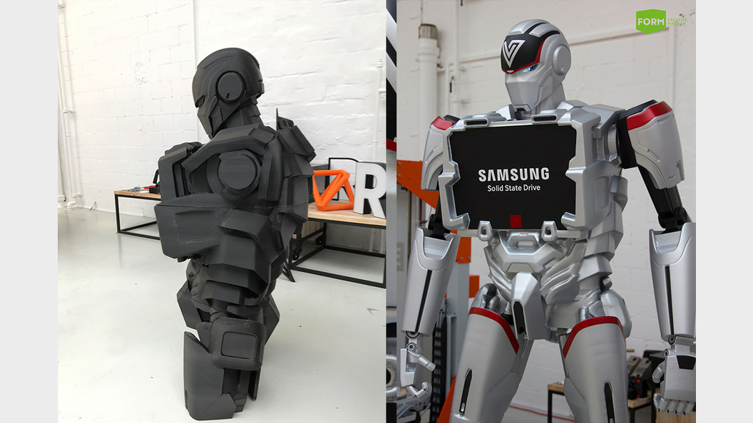 During production, and to compare the finished product.