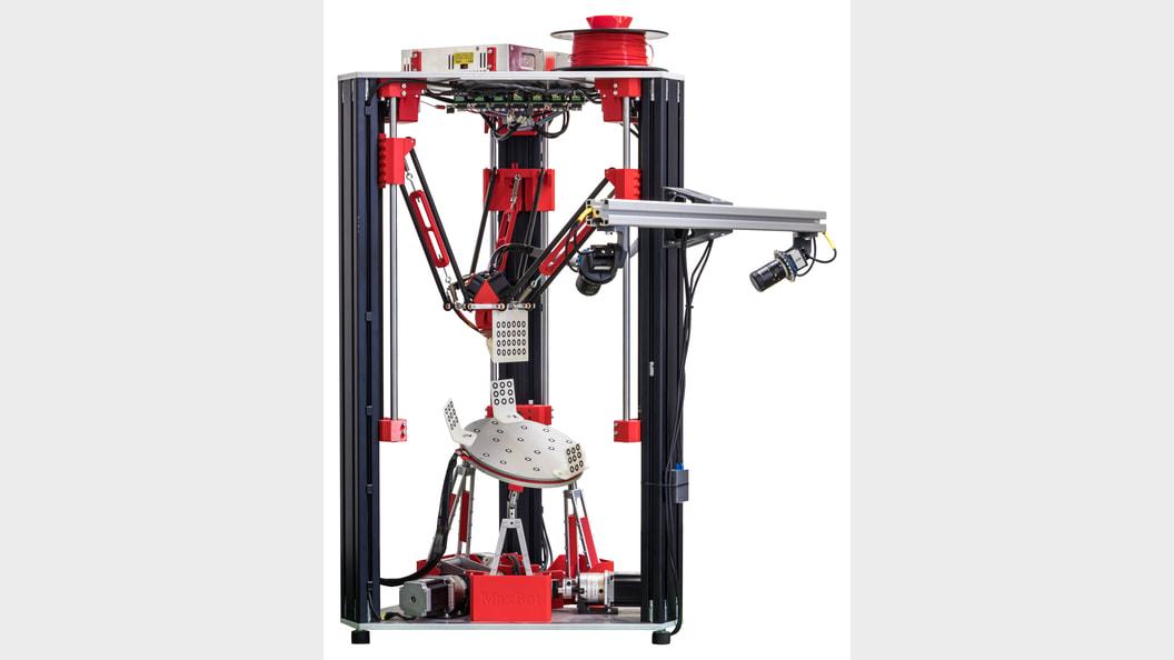 Präziser 3D-Drucker mit 6 Achsen – der Maxbot V2.0