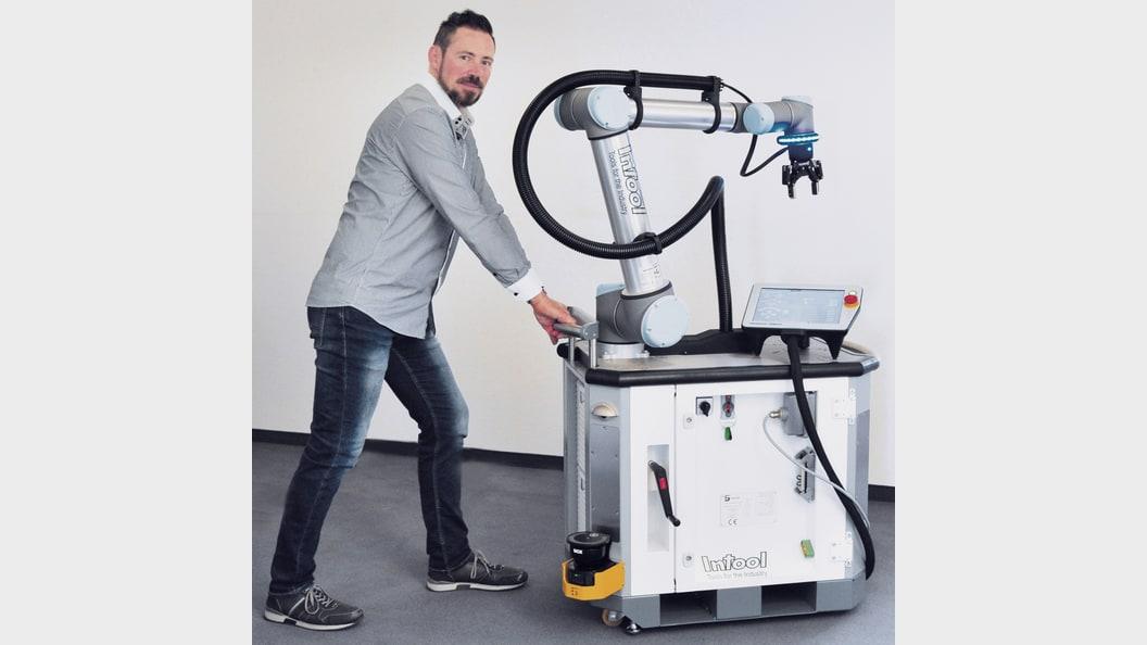 RoboCart beim Verschieben