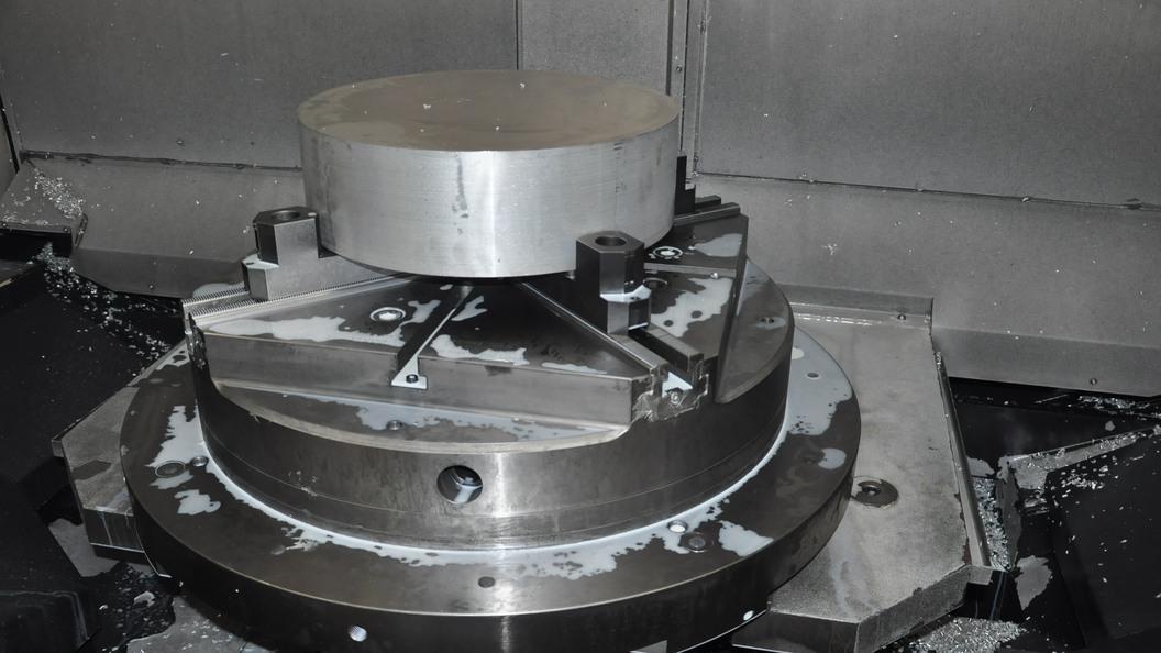InoFlex VF 080 mit rundem Rohling
