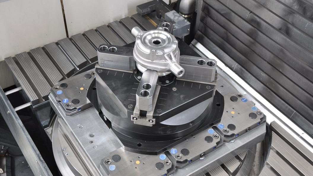 InoFlex VF 040 mit Gussrohling