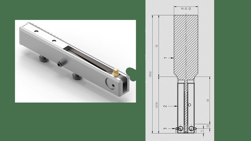 Das Doppelkassettenwerkzeug - eine kundenspezifische Lösung für minimale Bearbeitungszeit