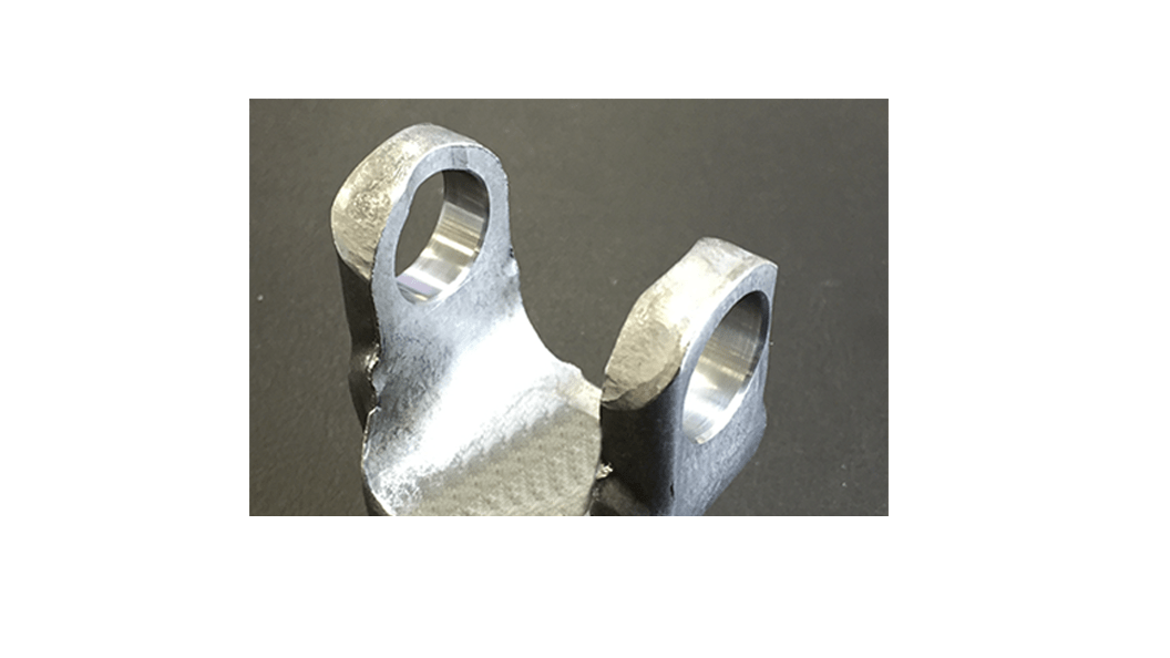 Perfectly deburred bore edges
