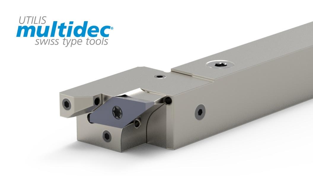 multidec®-Y-AXIS-Halter mit integrierter Kühlmittelzufuhr
