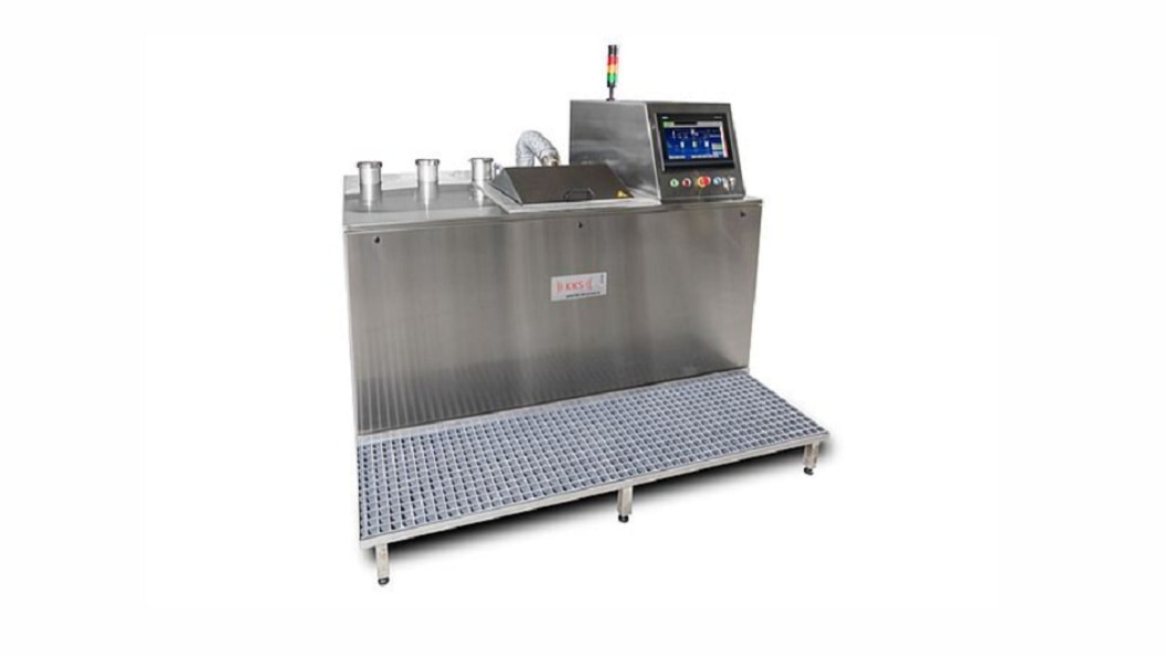 Automatic single chamber cleaning systems type KTR/KTRO - 3 tank version