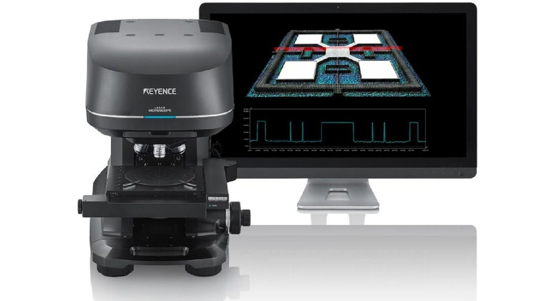 Confocal 3D Laser Scanning Microscope of the VK-X Series
