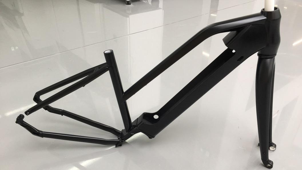 grosse Objekte - Fahrradrahmen in neuem Design