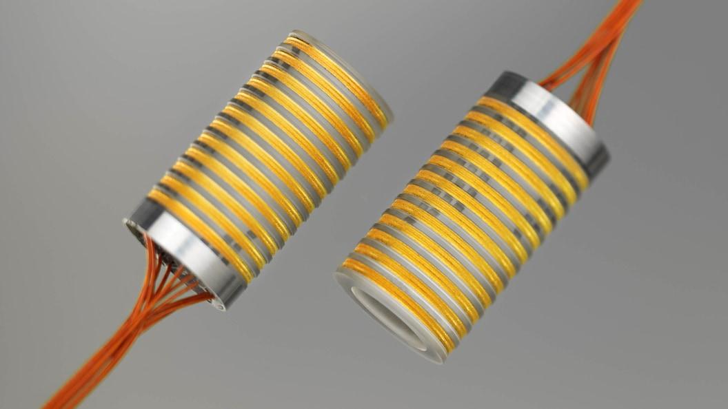 Patentierte Neukonstruktion eines Schleifringanordnungsrotors