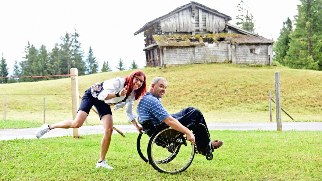 Rollstuhlfahrenden den Gang aufs stille Örtchen erleichtern Bild:Schweizer Paraplegiker-S