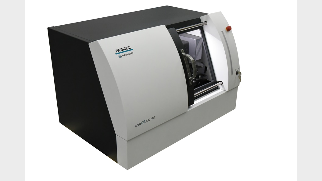 WENZEL kompakter Desktop-CT exaCT S
