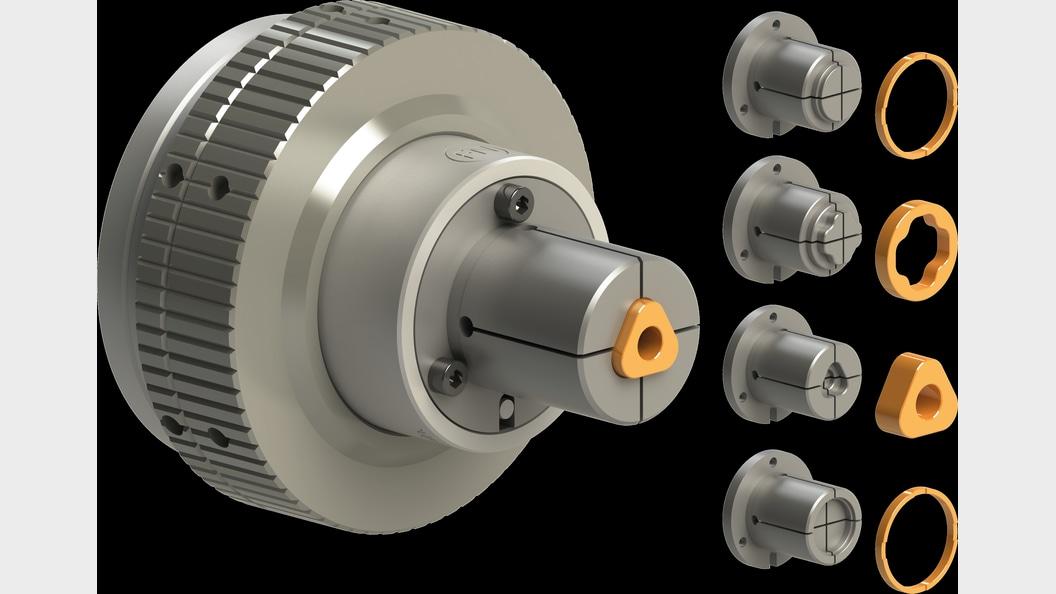 Spannzangenfutter Typ FNO-K mit diversen teilespezifischen Spannzangen