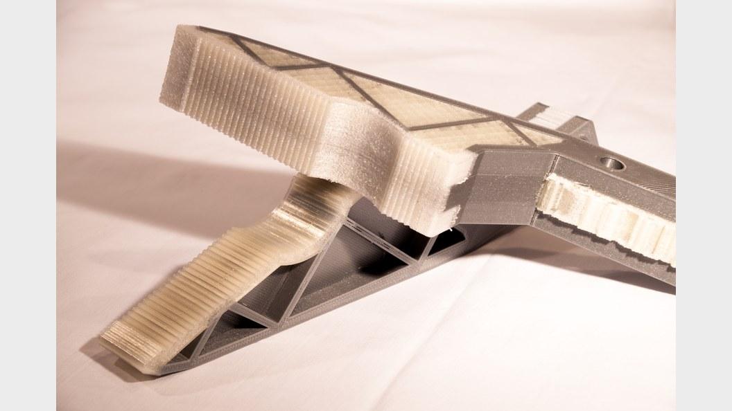 Multi-Material Robotergreifer