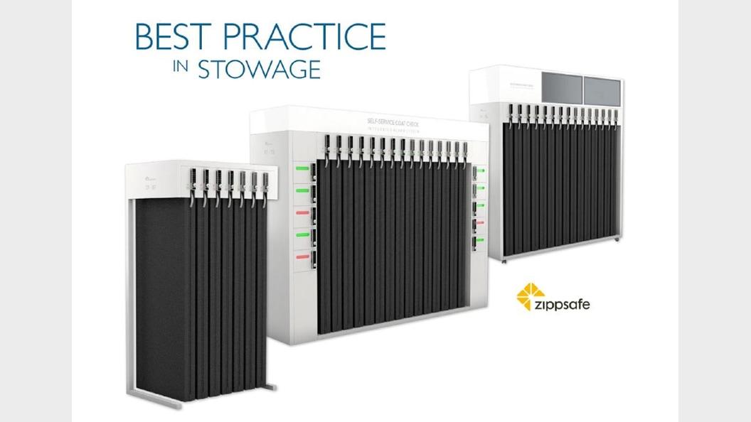 Innovatives Garderoben- und Service-System von Zippsafe
