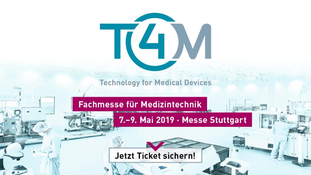 """Mit dem Aktionscode """"Medtech.plus4U"""" schenken wir Ihnen den Eintritt zur T4M"""