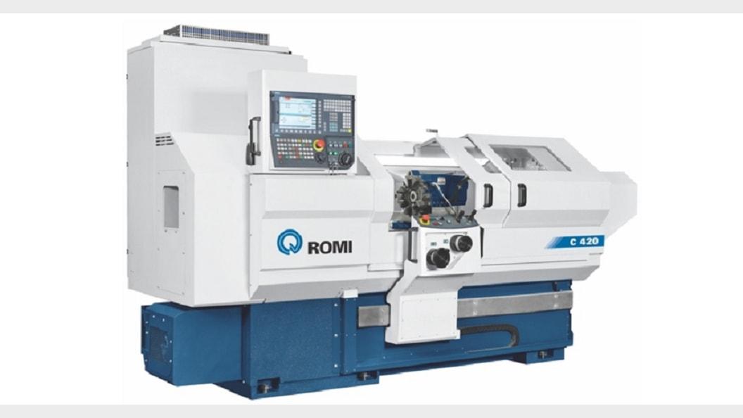 ROMI C420 - Zyklengesteuerte Drehmaschine