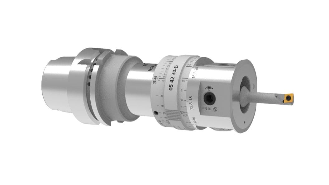 Der auswuchtbare Feinbohrkopf MicroMax (Alpha) für Durchmesser von 0.2 - 40 mm