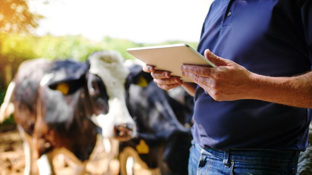 AGRO-TECH kann auch per Smartphone oder Tablet-PC genutzt werden