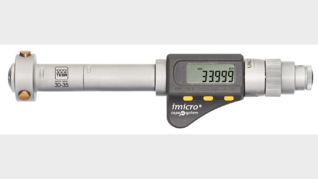 Kalibrierauftrag digitaler Innenmikrometer TESA TECHNOLOGY