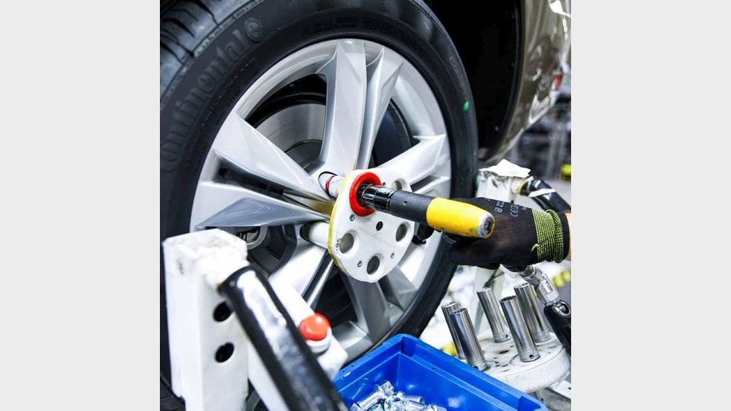 Pressluftschrauber mit gedrucktem Radschutz
