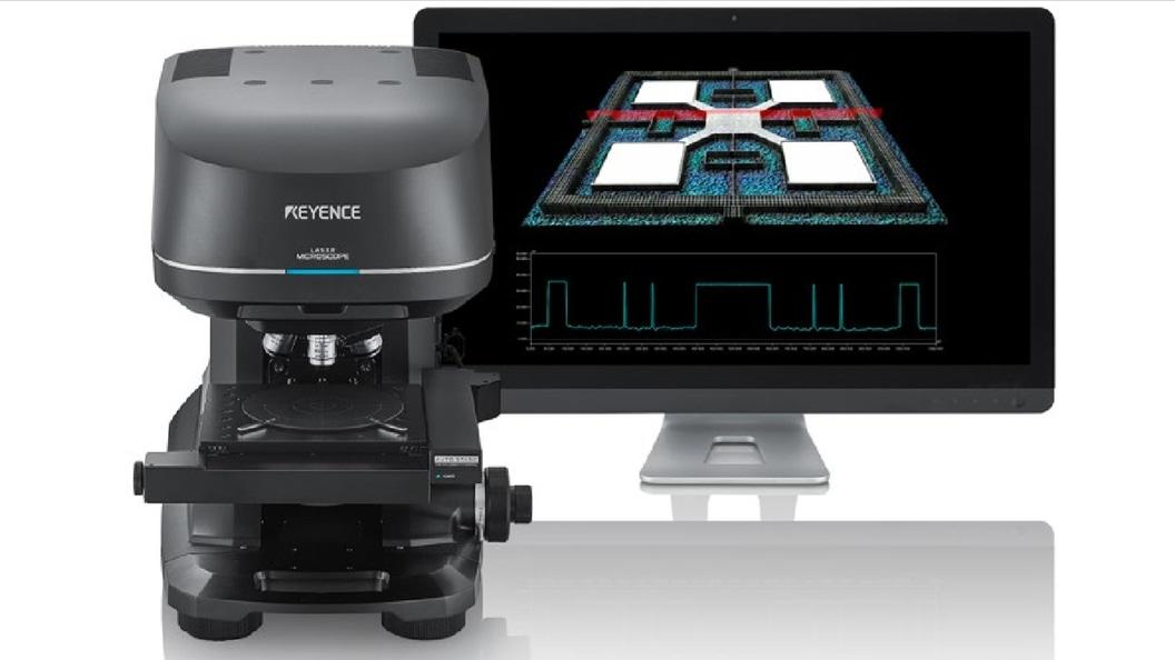 Konfokales 3D Laserscanning-Mikroskop der Modellreihe VK-X