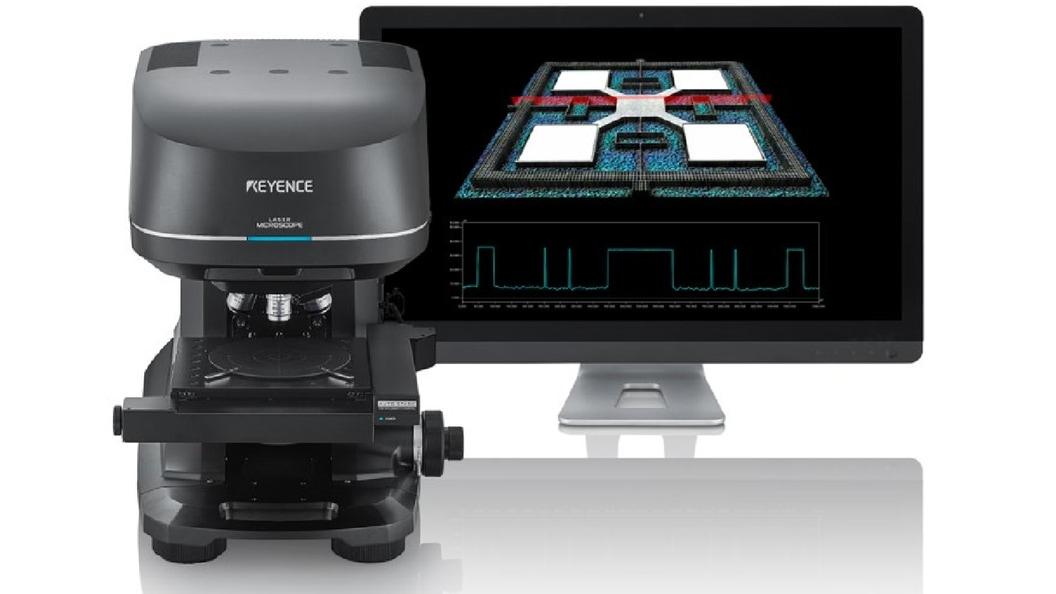 Konfokales 3D Laserscanning-Mikroskop Konfokales 3D Laserscanning-Mikroskop der Modellreihe VK-X