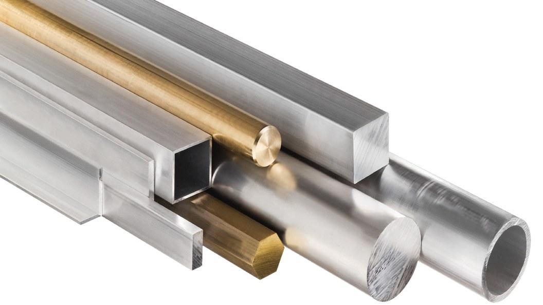 Aluminium und Messing