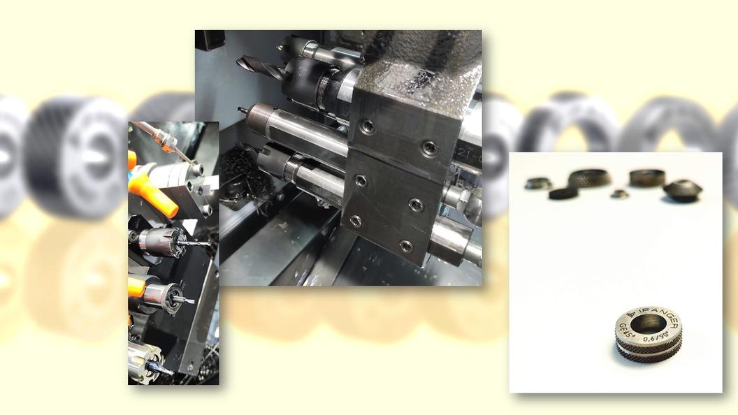 Ifanger AG stellt ihre Werkzeuge wie MicroTurn selber her, kann somit Ihre Kunden auch beraten!