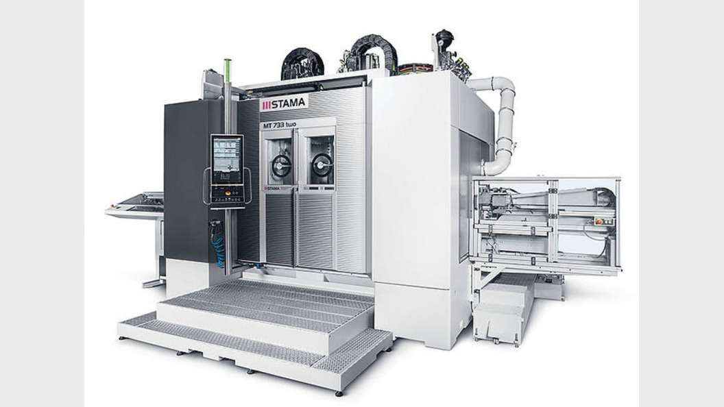 STAMA MT 733 Flexible, fast, precise from blank to finished part Milling/turning centers, 5-axis
