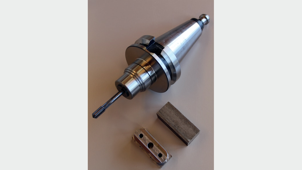 Hochpräzisions-Kraftspannfutter aufgenommene VHM-Hochleistungs-Reibahle