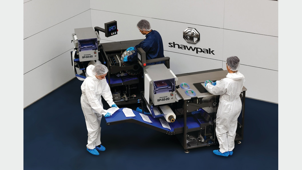 SHAWPAK - Packaging on the smallest possible area