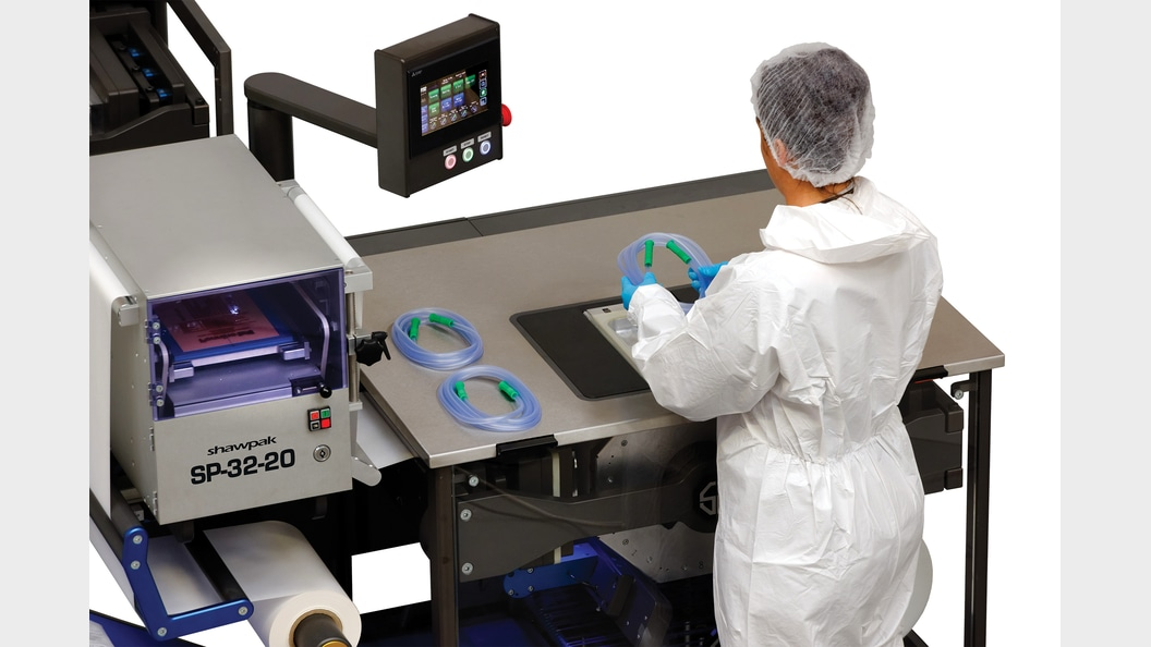 SHAWPAK - manual packaging or fully automatic with robotics