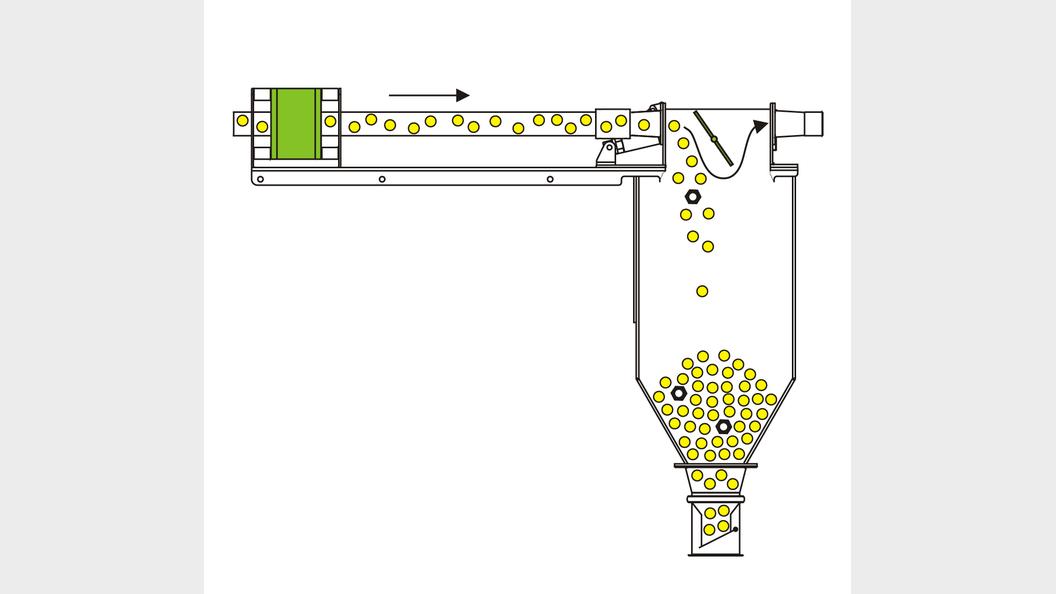 Schema Metall-Separator