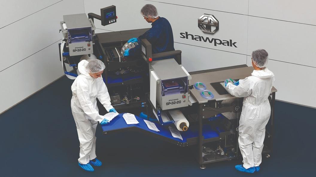 SHAWPAK - Verpacken auf kleinst möglicher Fläche