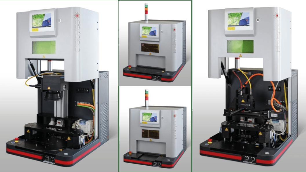 kompakte modulare Maschine zum Kunststoffschweissen mit Laser: Turnkey S